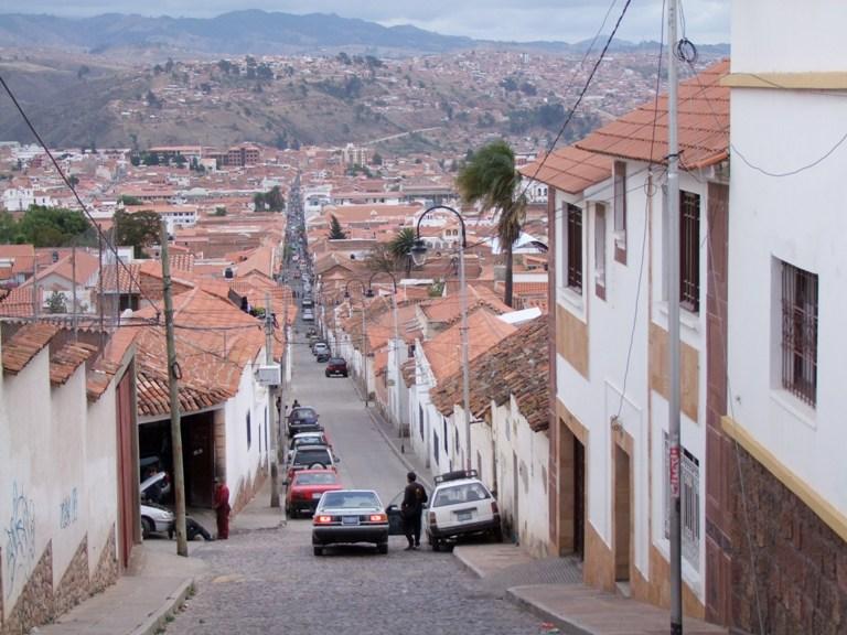 Sucre, Hauptstadt Boliviens