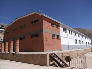 Die Batterienfabrik in der Nähe von Potosí