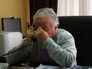 Ein wichtiges Telefonat